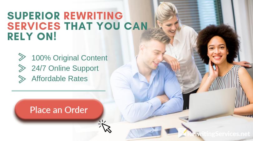 professional online rewriter