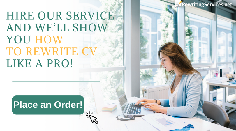 professional cv rewrite help