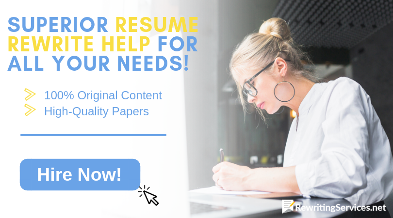 reliable resume rewrite service