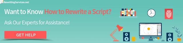 paraphrasing script
