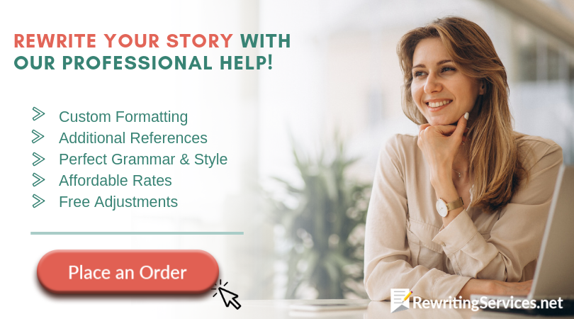 professional service to rewrite the story