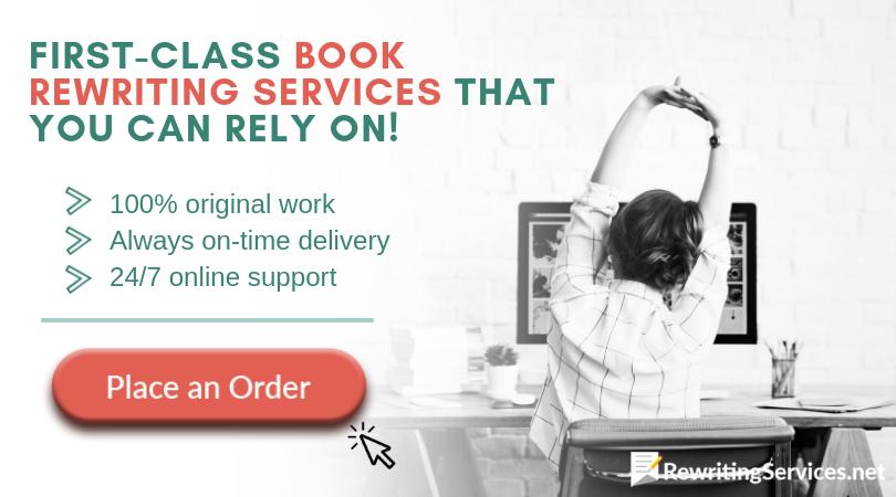 rewrite book professional service