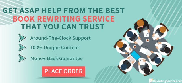we will help you to rewrite book professionaly