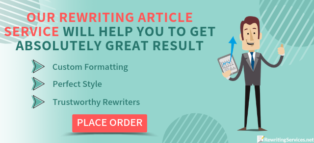 Rewriting an essay