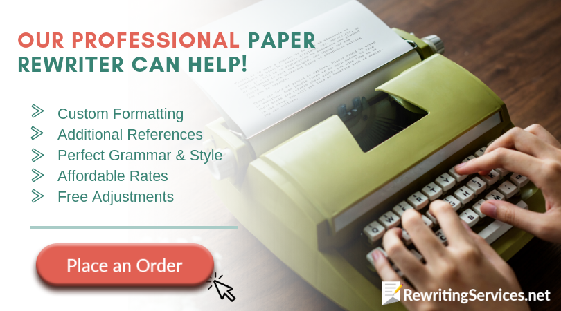 reliable paper rewriter