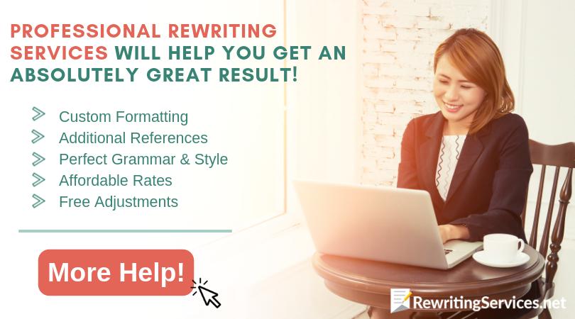 help avoiding plagiarism