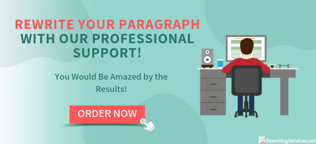 professional help rewrite the paragraph