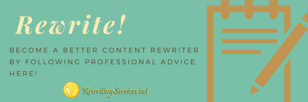 content rewriting tips
