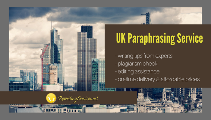 best uk paraphrasing service