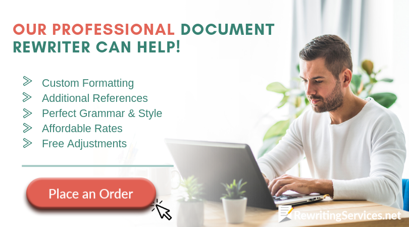 professional document rewriter