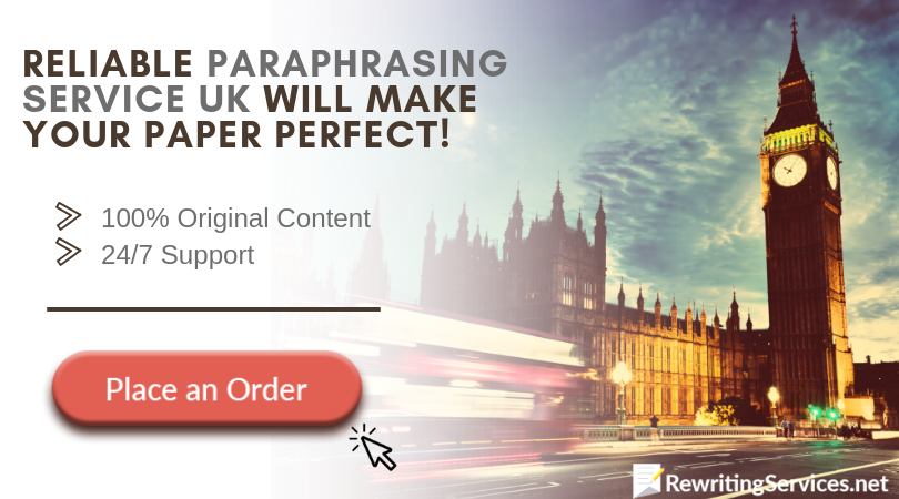 reliable paraphrase service uk