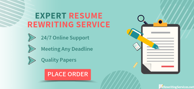 we will help with resume rewriting